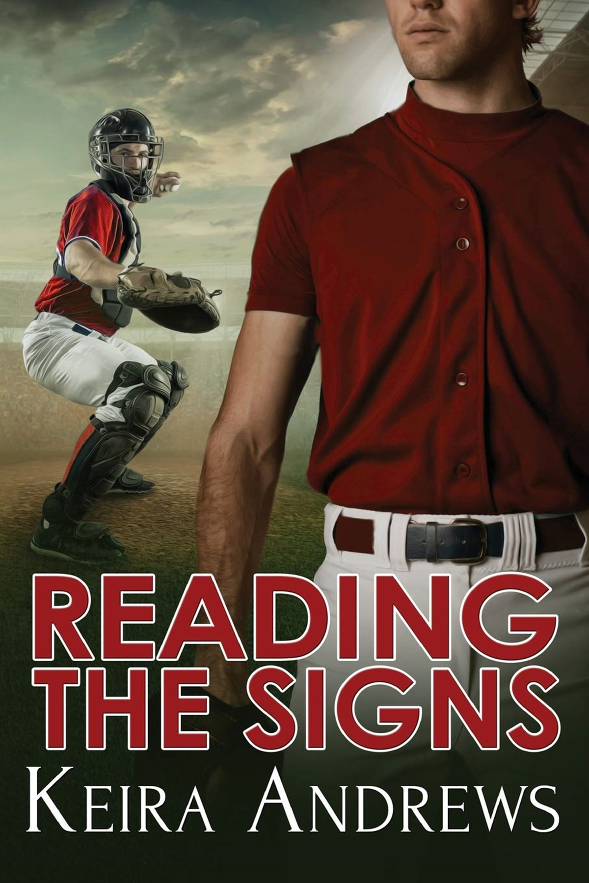 Baseball Romance Novels, cover of Reading the Signs by Keira Andrews, books