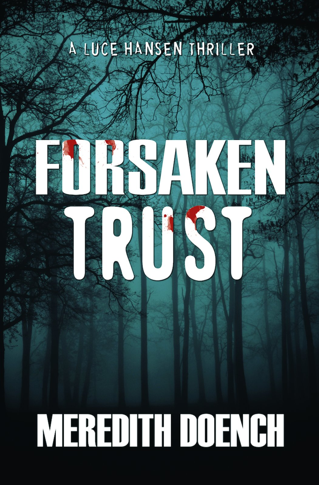 Romance Mystery Novels, cover of Forsaken Trust my Meredith Doench, books