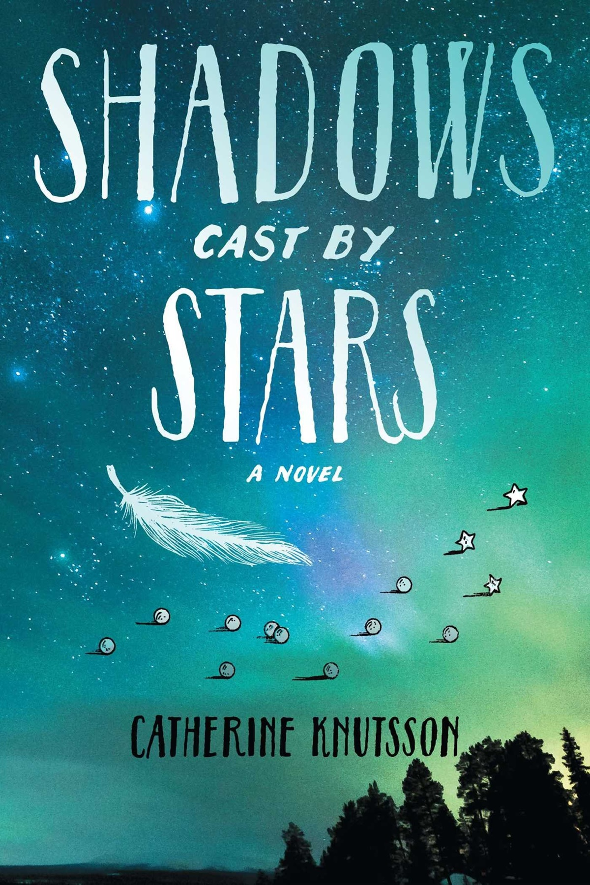 Native American Romance Novels, cover of Shadows Cast by Stars by Catherine Knutsson, books