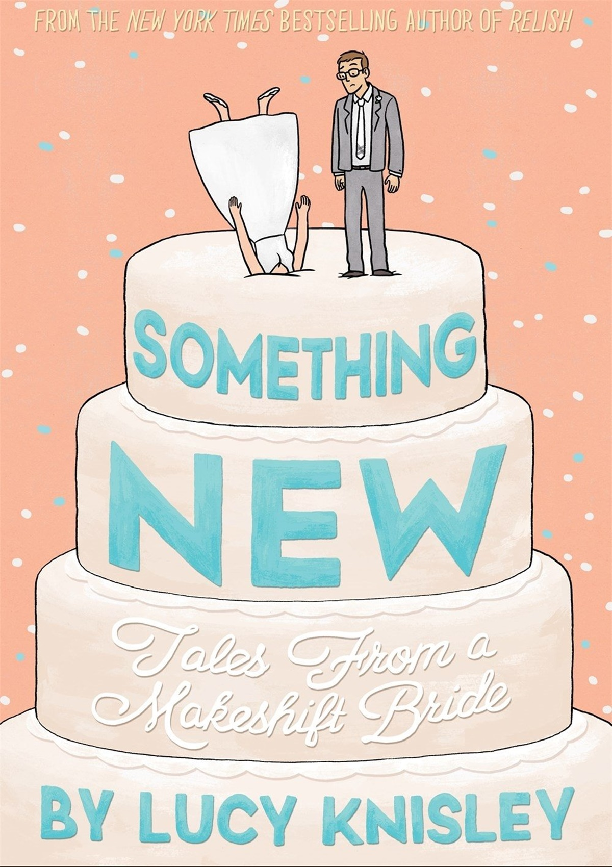 Romance Comics, cover of Something New by Lucy Knisley, books