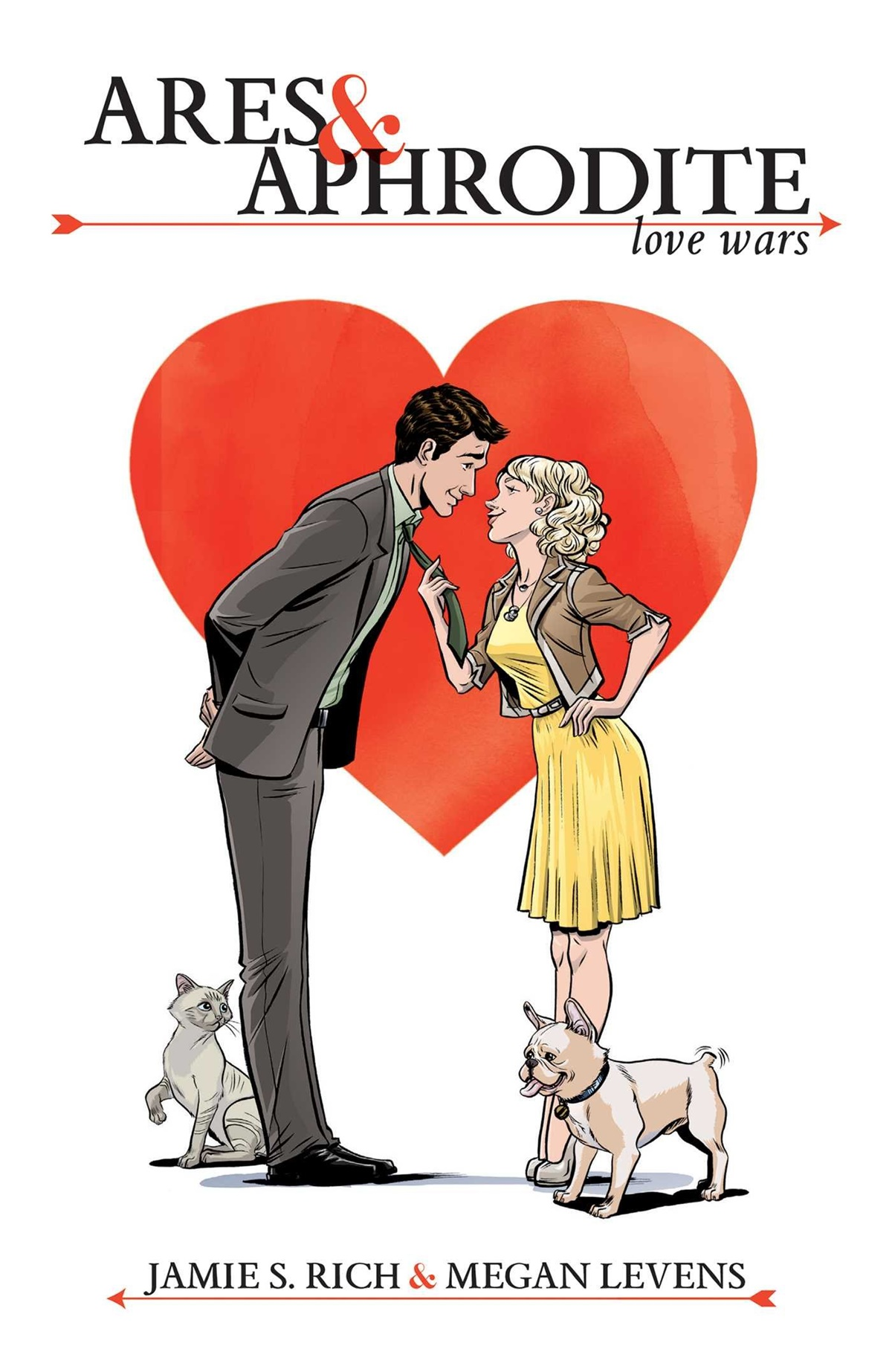 Romance Comics, cover of Ares & Aphrodite by Jamie S. Rich, books