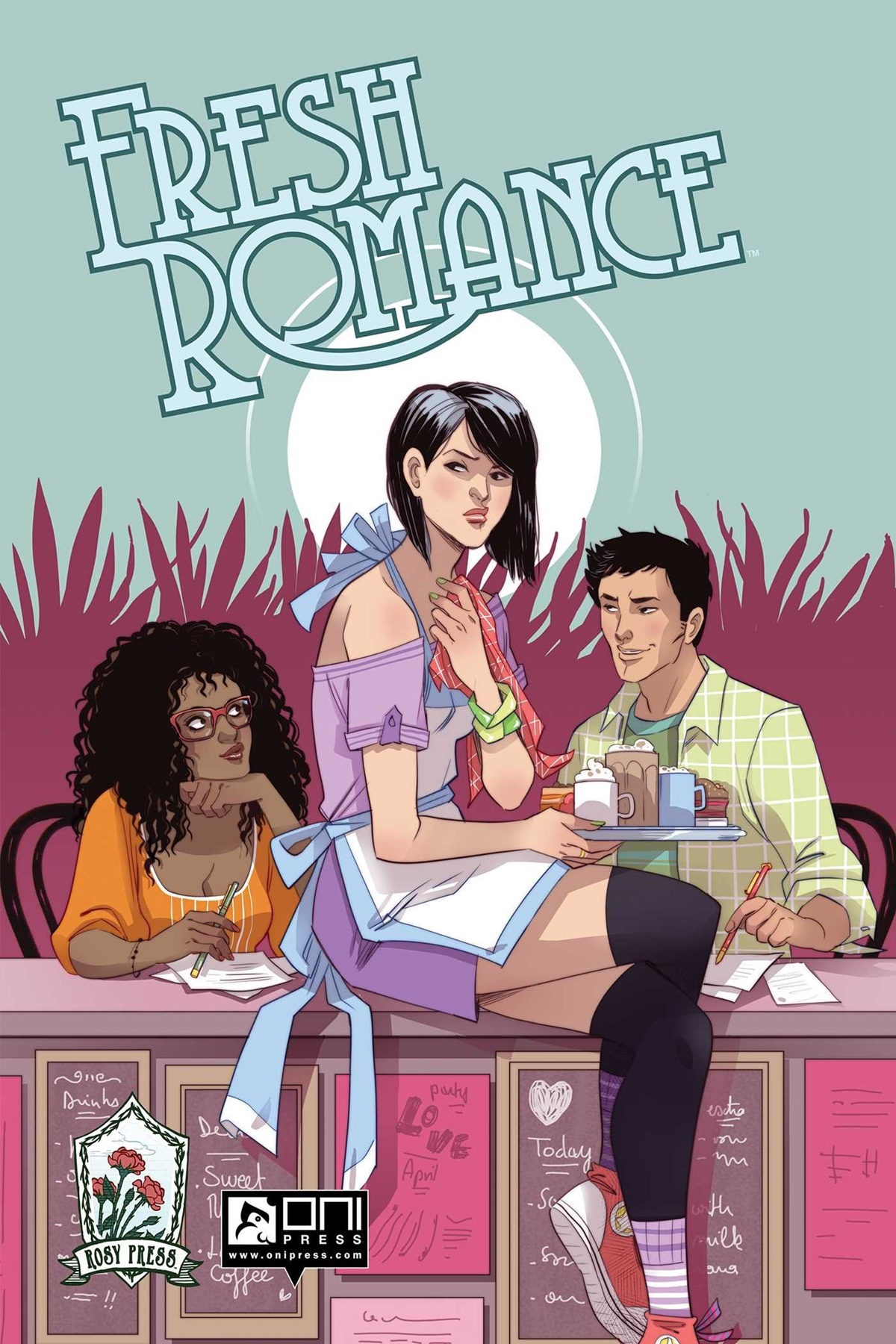 Romance Comics, cover of Fresh Romance by various authors, books
