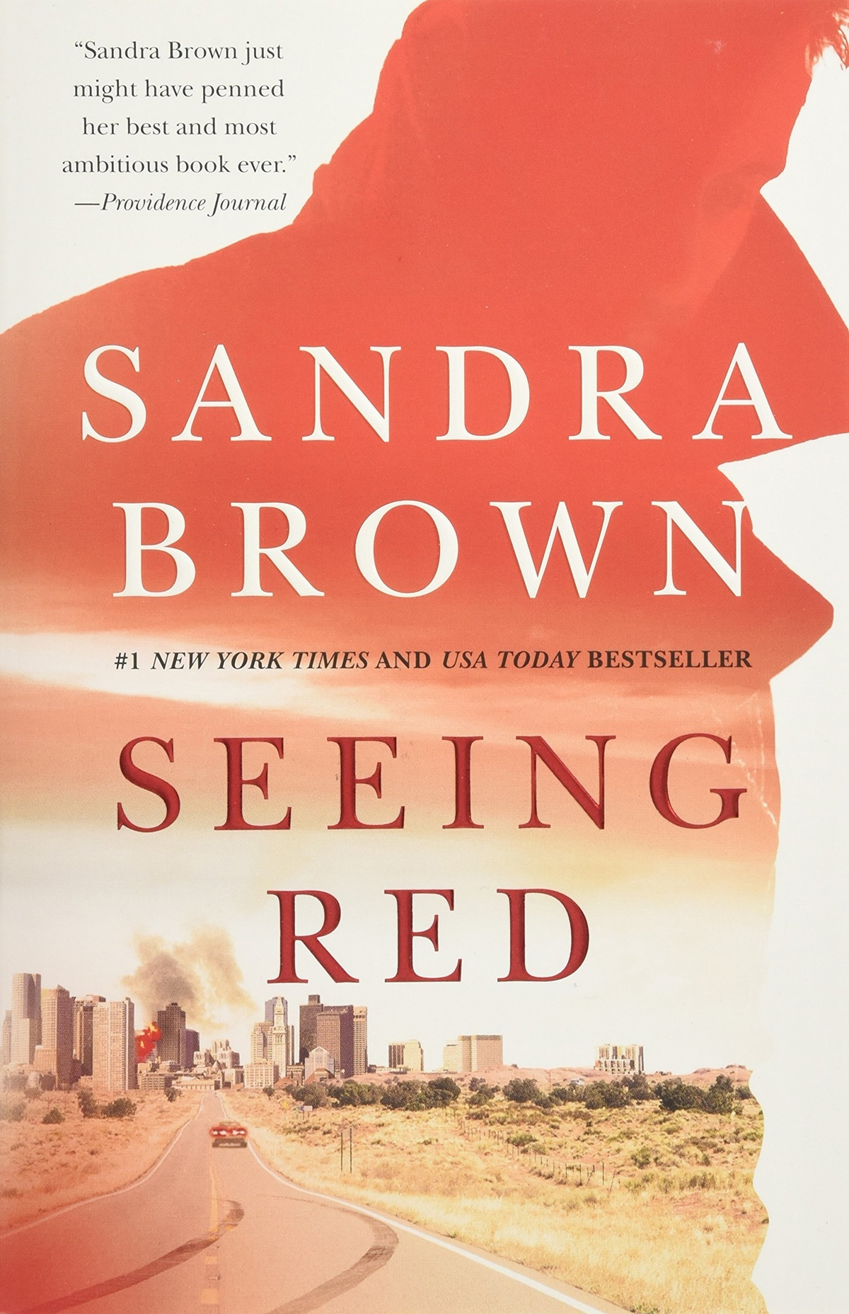 Sandra Brown Books, the cover of Seeing Red by Sandra Brown, books