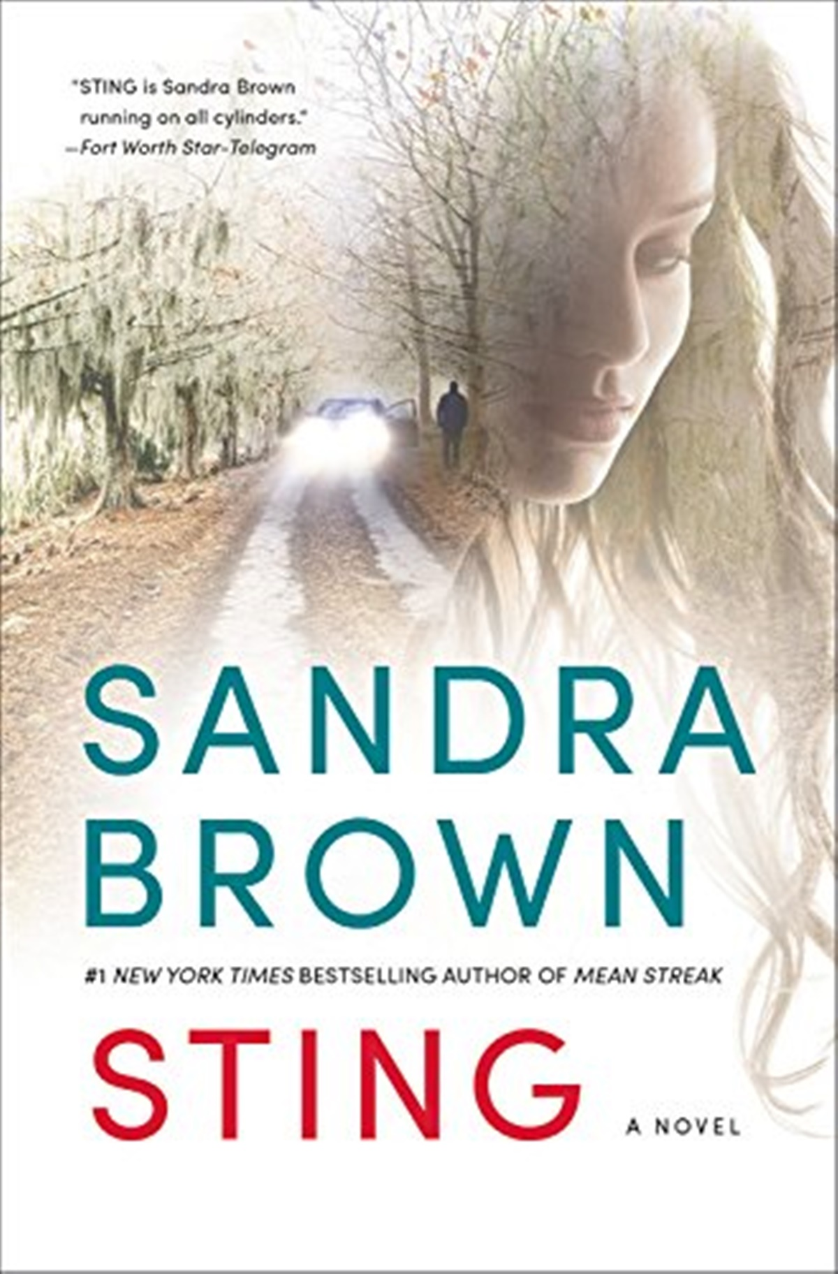 Sandra Brown Books, cover of Sting by Sandra Brown, books
