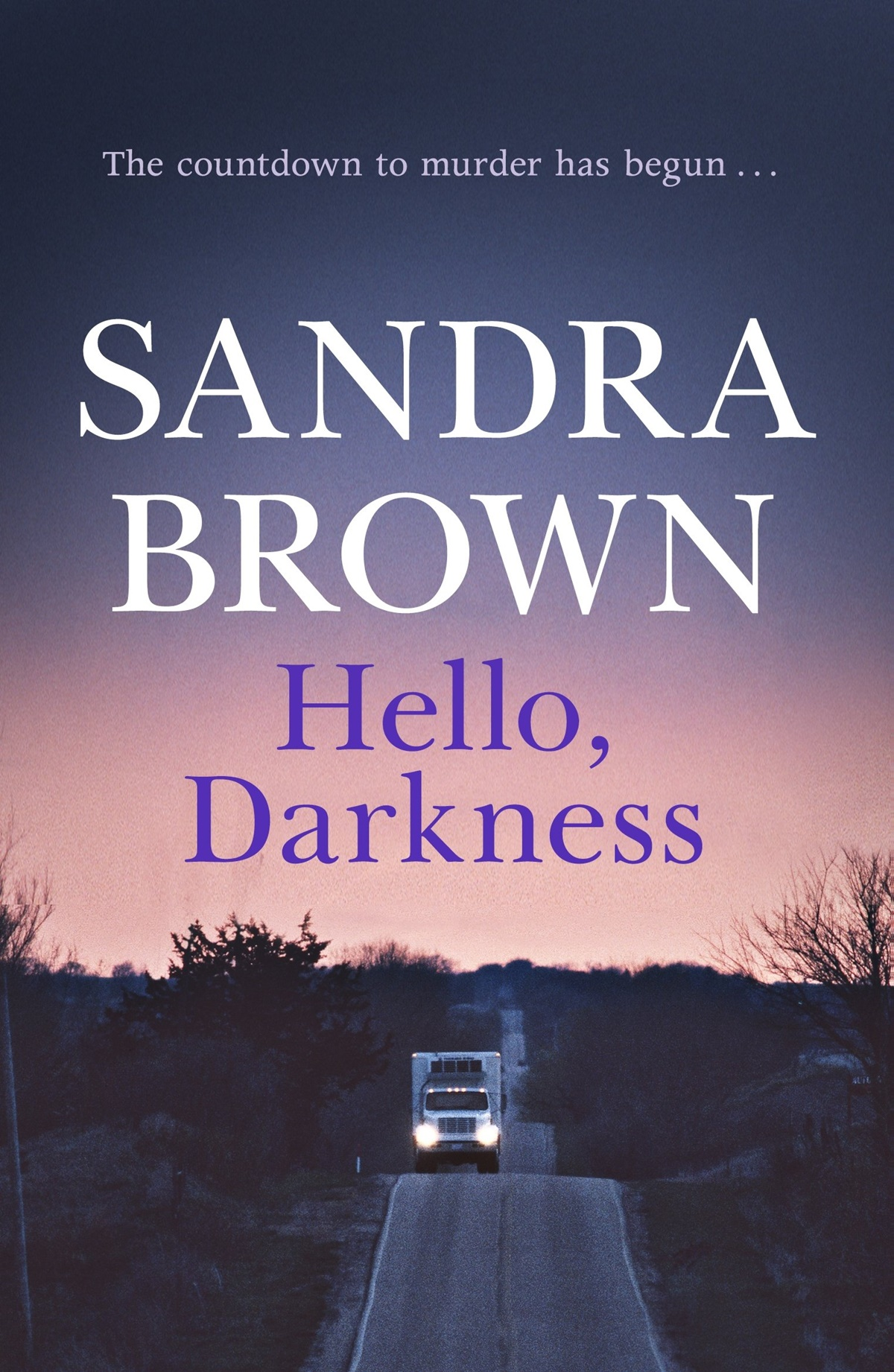 Sandra Brown Books, cover of Hello Darkness by Sandra Brown, books