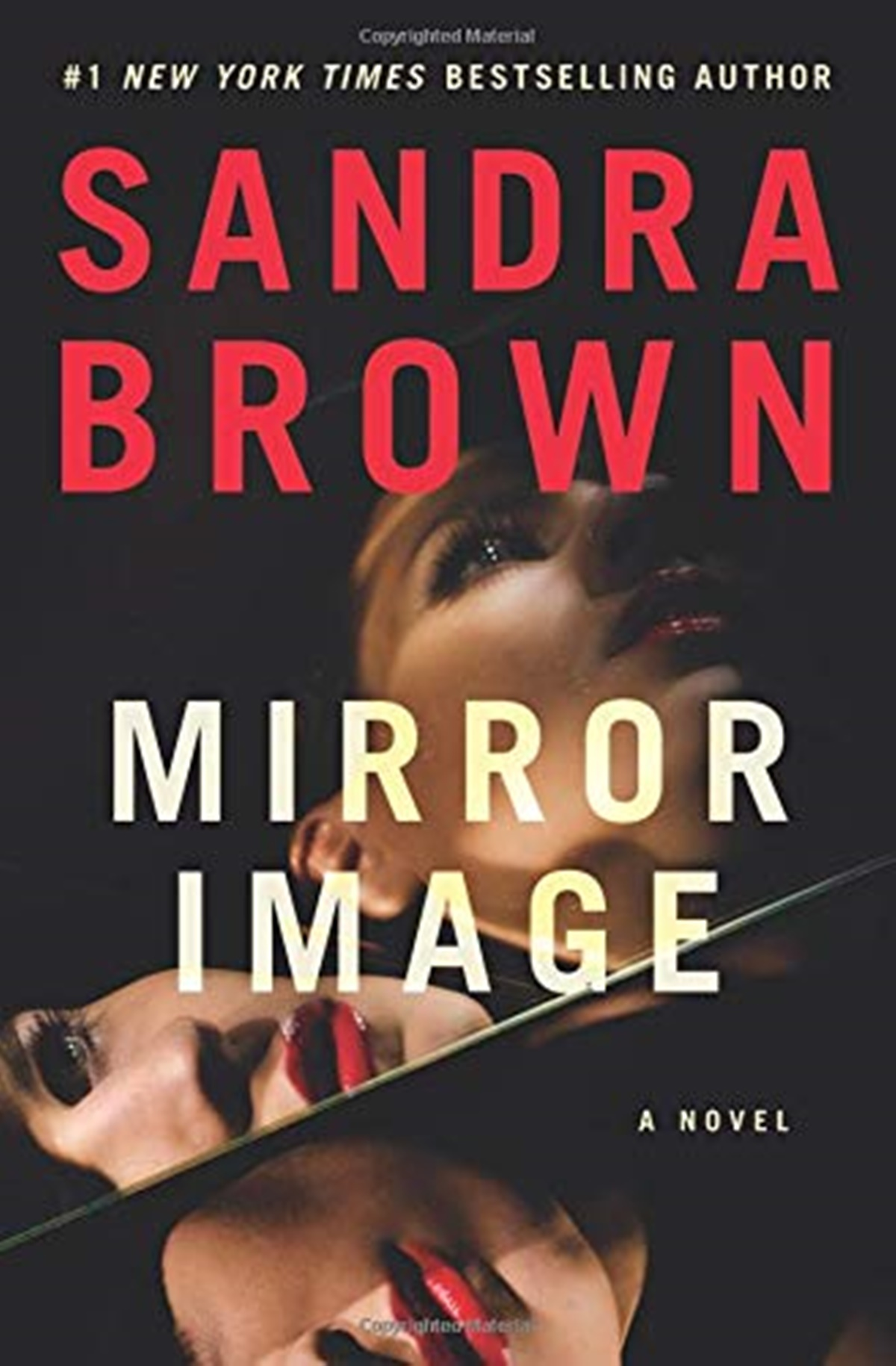 Sandra Brown Books, cover of Mirror Image by Sandra Brown, books