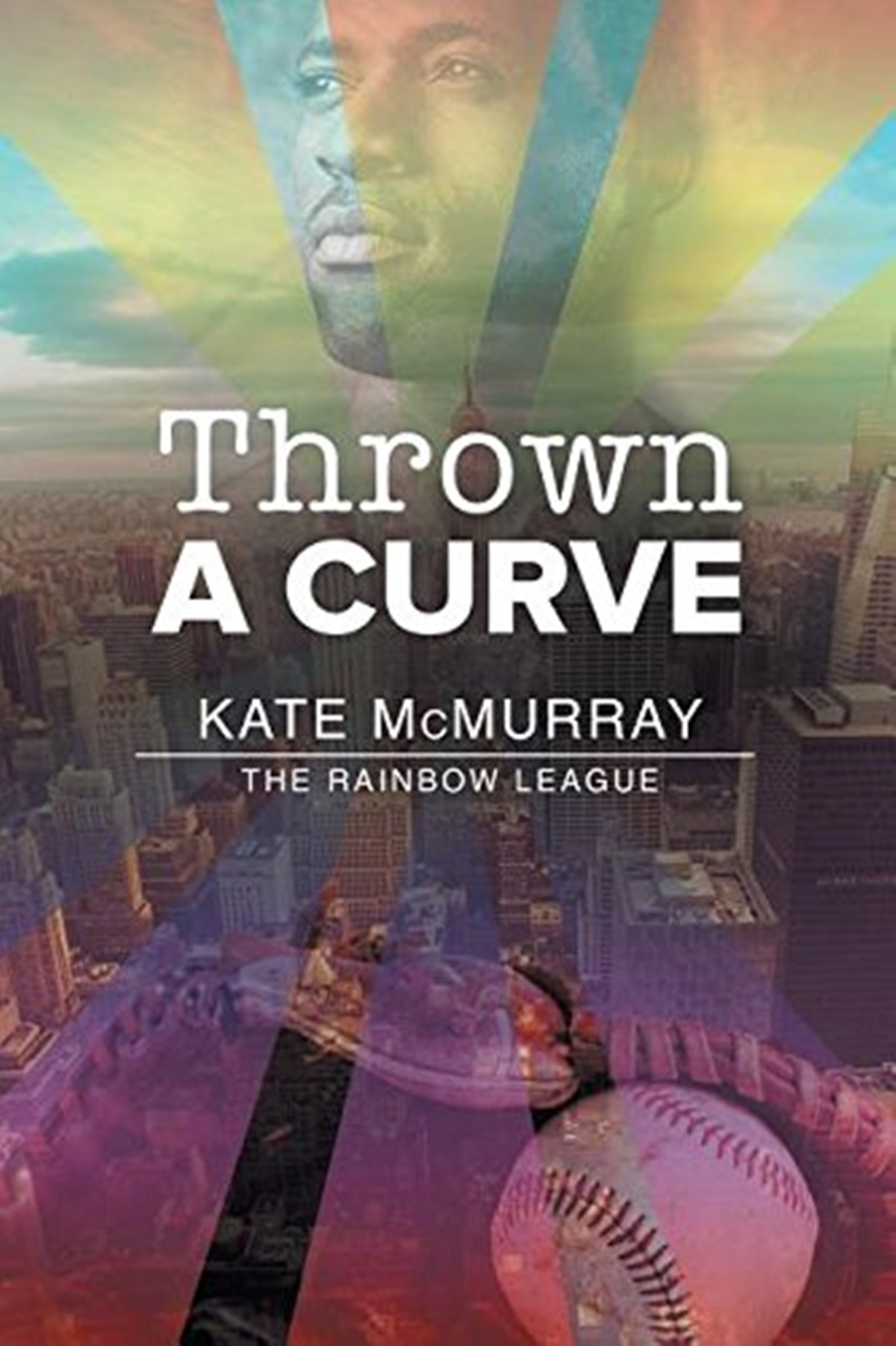 Baseball Romance Novels, cover of Thrown a Curveball by Kate McMurray, books