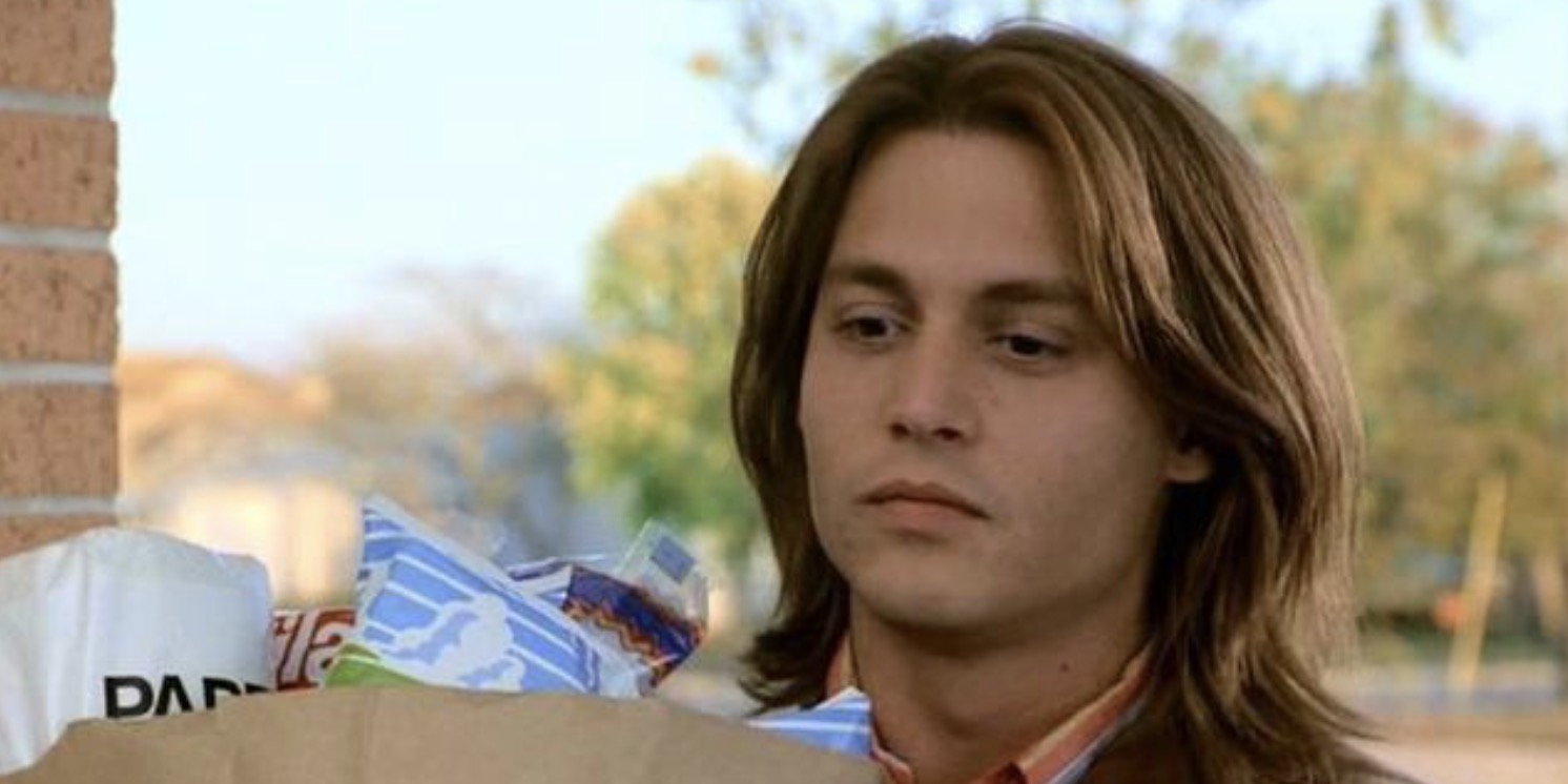 johnny depp, What's Eating Gilbert Grape, 90s male icon