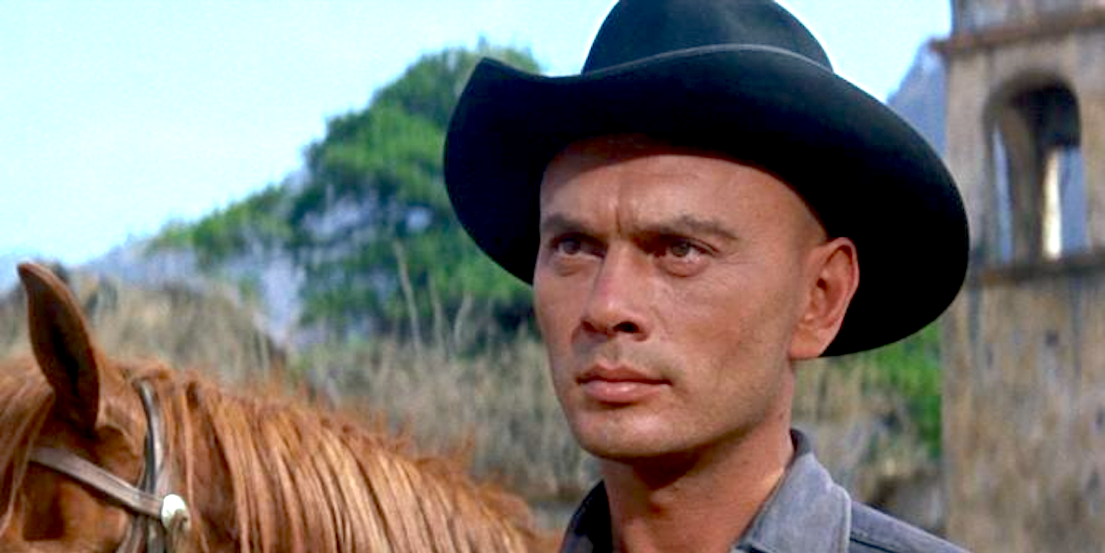 movies, The Magnificent Seven, 1960, yul brynner, AMC