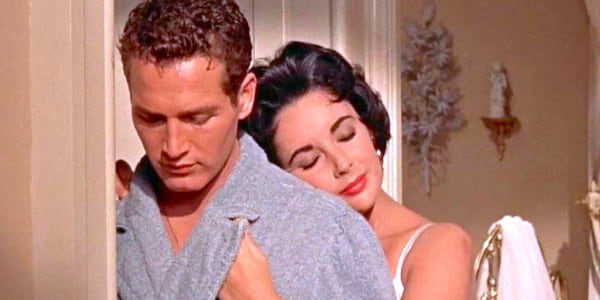 movies, Cat on a Hot Tin Roof, 1958, paul newman, elizabeth taylor, AMC