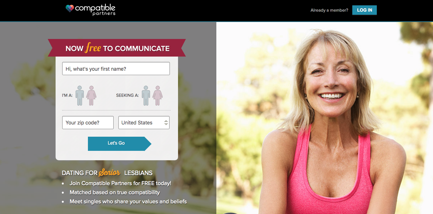 Compatible Partners homepage