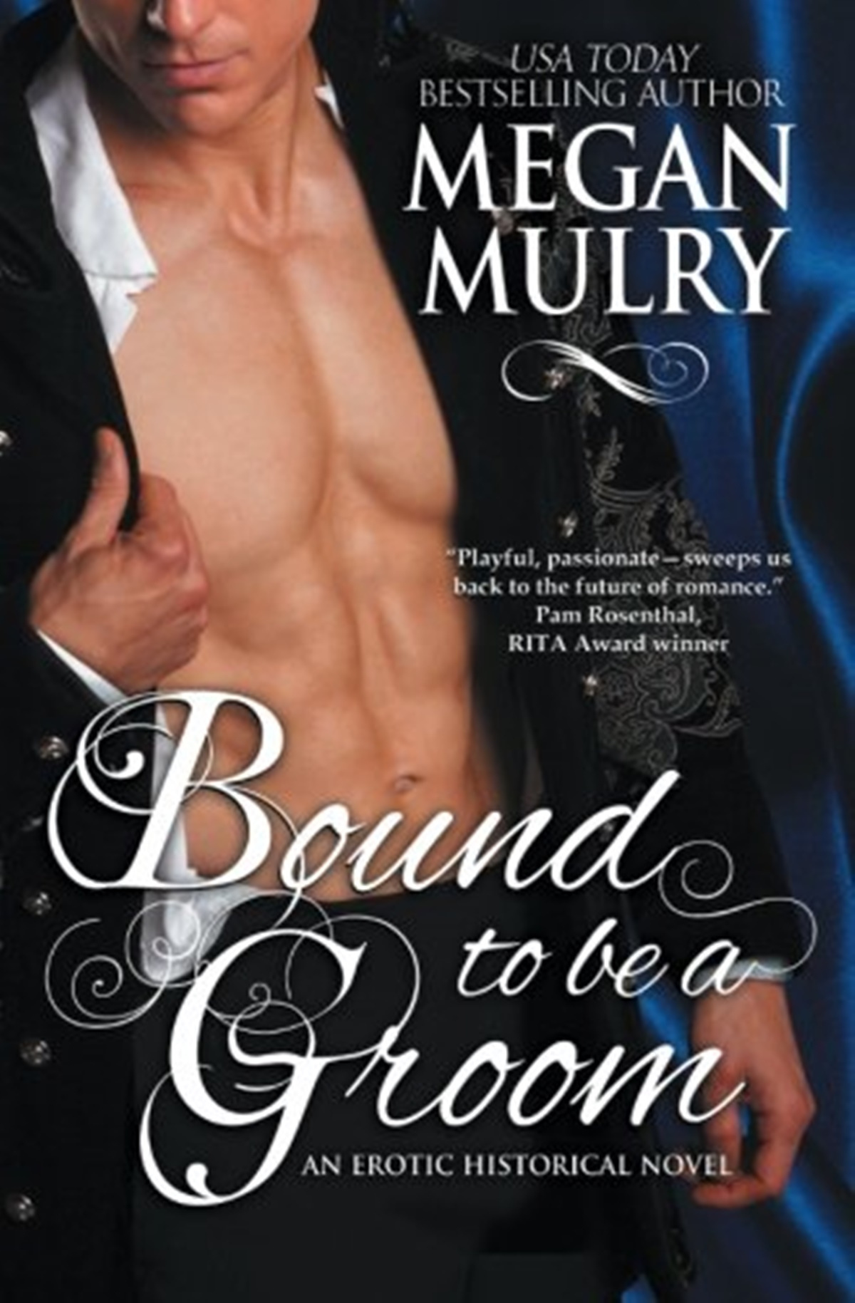 Polyamorous Romance Novels, cover of Bound to be a Groom by Megan Mulry, books