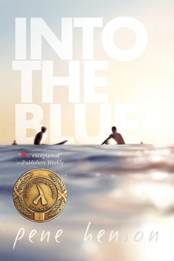 New Adult Romance Novels, cover of Into the Blue by Pene Henson, books
