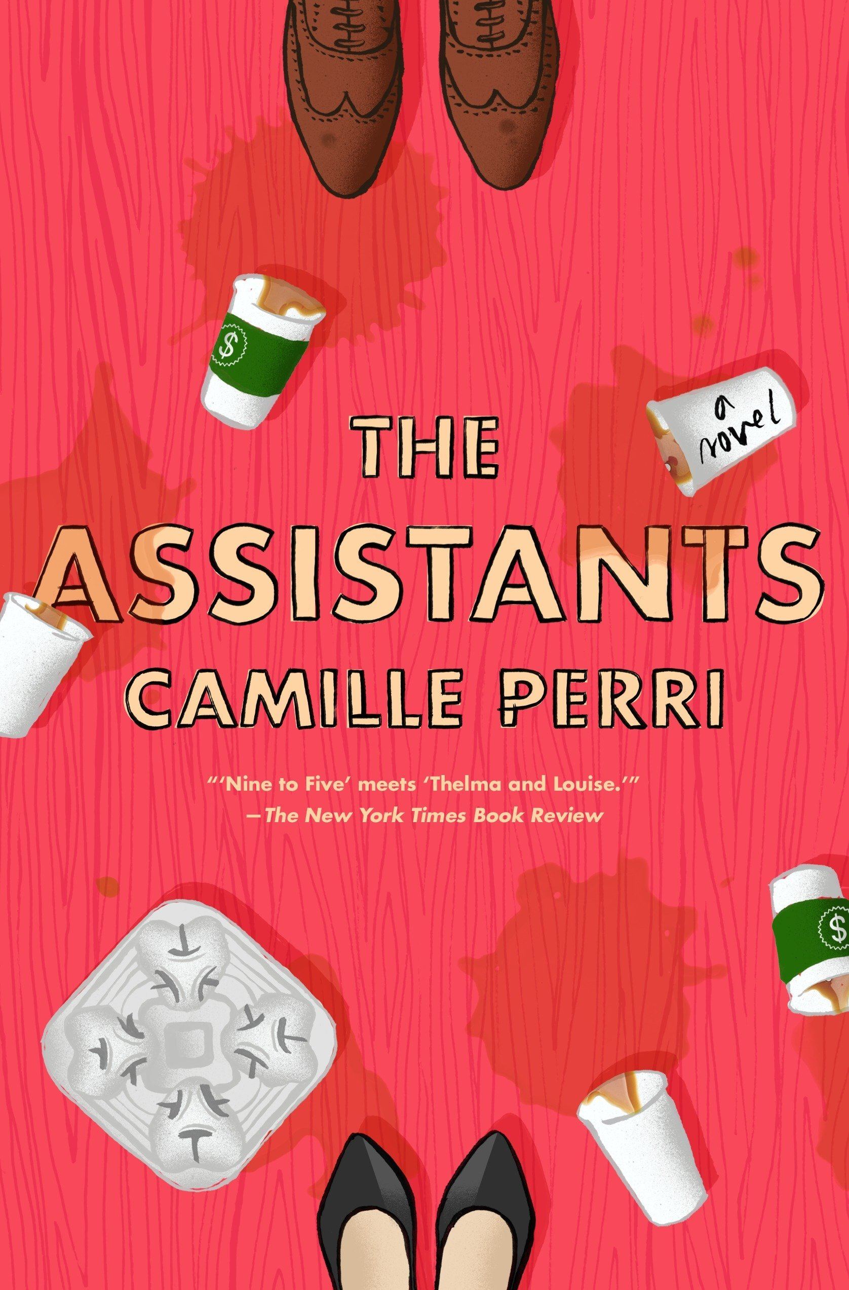 Romance Books Like The Bold Type, cover of the Assistants by Camille Perri, books