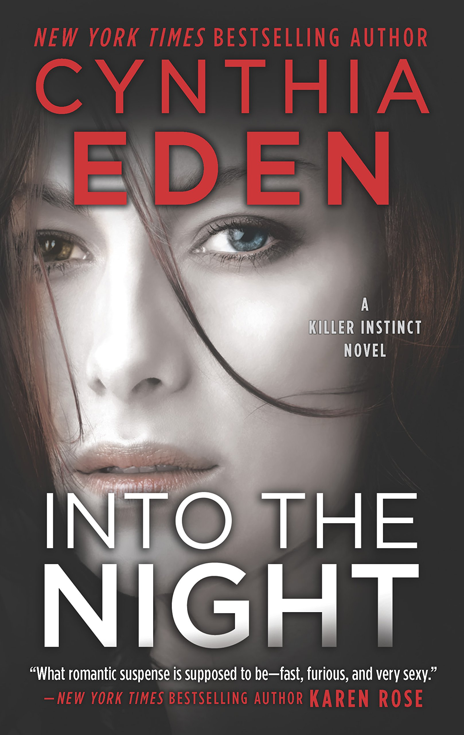 Adventure Romance Novels, cover of Into the Night by Cynthia Eden, books, wdc-slideshow