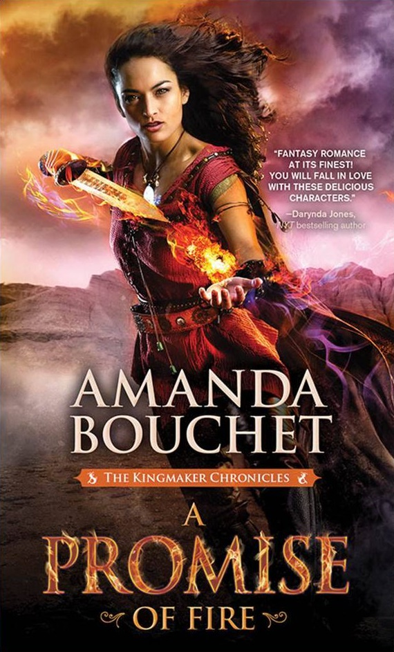 Adventure Romance Novels, cover of A Promise of Fire by Amanda Bouchet, books, wdc-slideshow