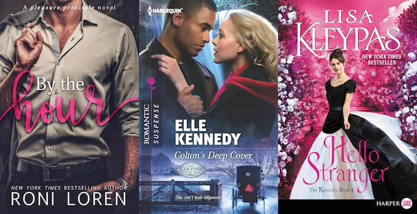 Doctor Romance Novels, three book covers of doctor romance novels, books