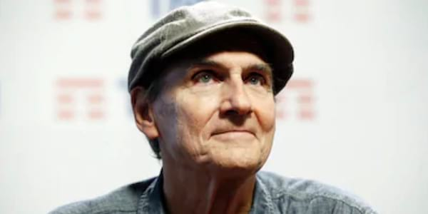 recent images of iconic singers, Music, James Taylor