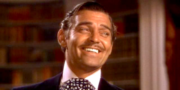 movies, gone with the wind, 1939, clark gable as rhett butler, AMC