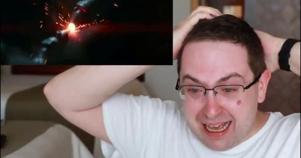 Eric Butts reacting to the teaser trailer for Star Wars Episode IX: The Rise of Skywalker