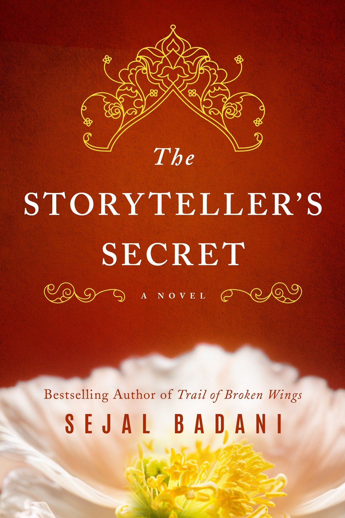 Historical Fiction Books, cover of The Storyteller's Secret by Sejal Badani, books