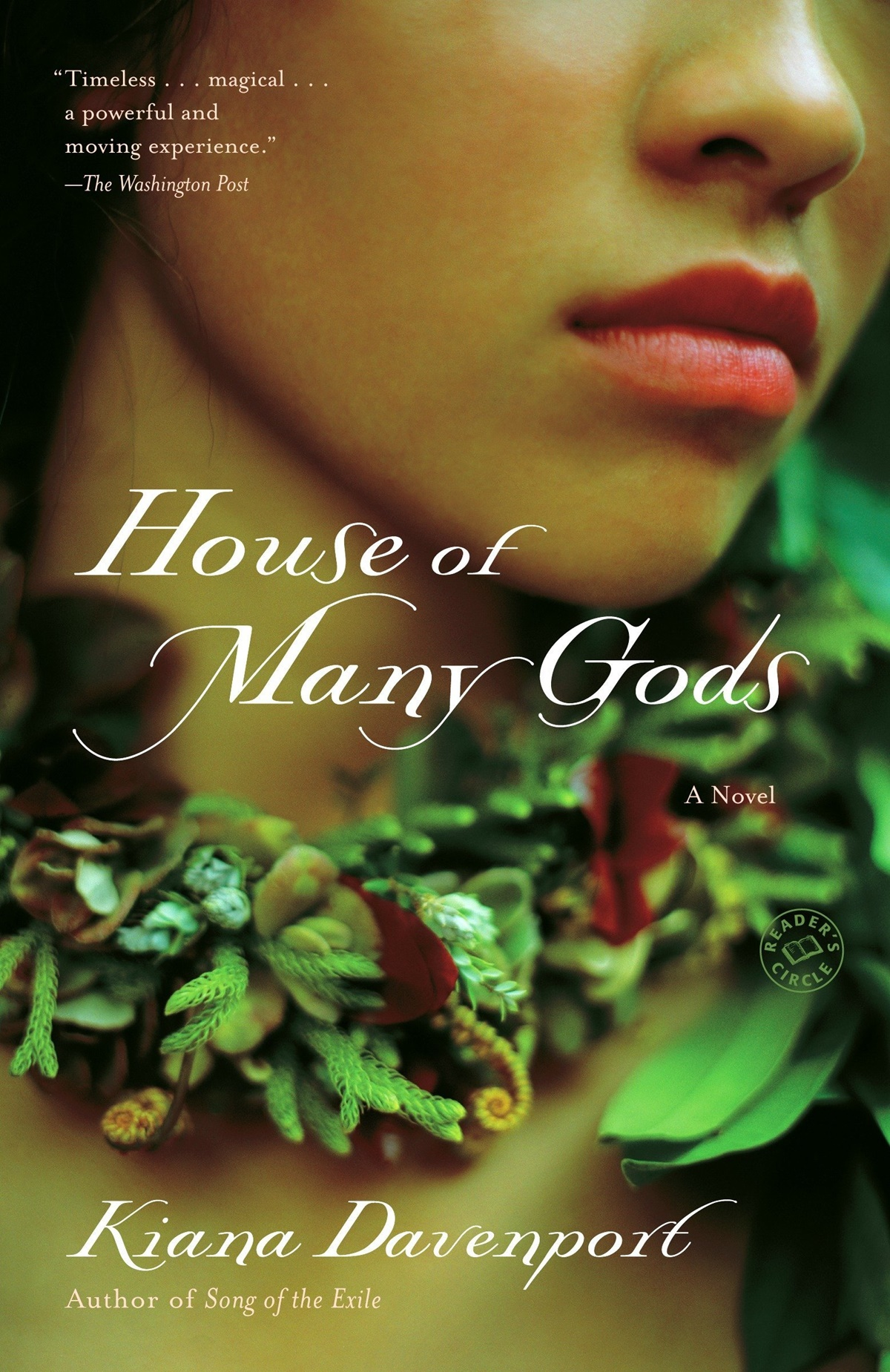 Historical Fiction Books, cover of House of Many Gods by Kiana Davenport, books