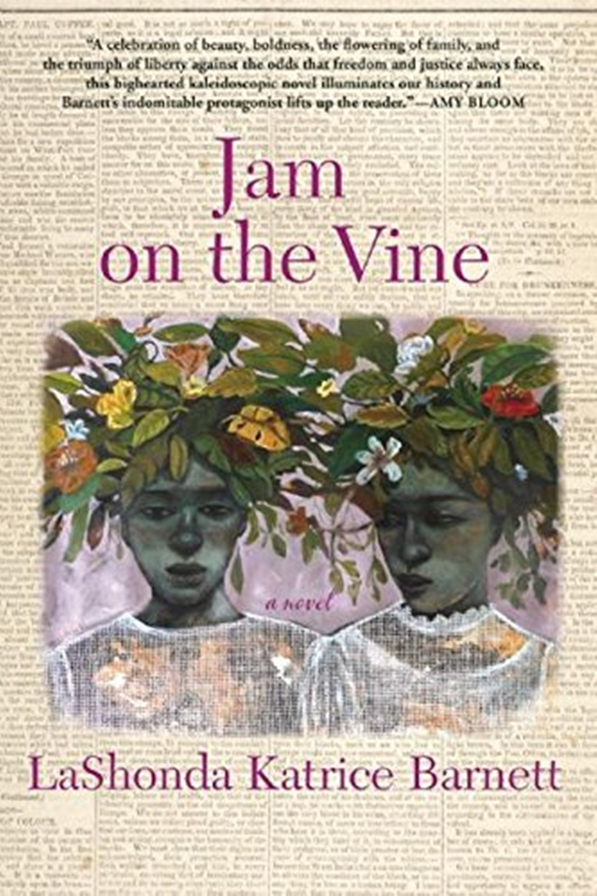 Historical Fiction Books, cover of Jam on the Vine by LaShonda Katrice Barnett, books