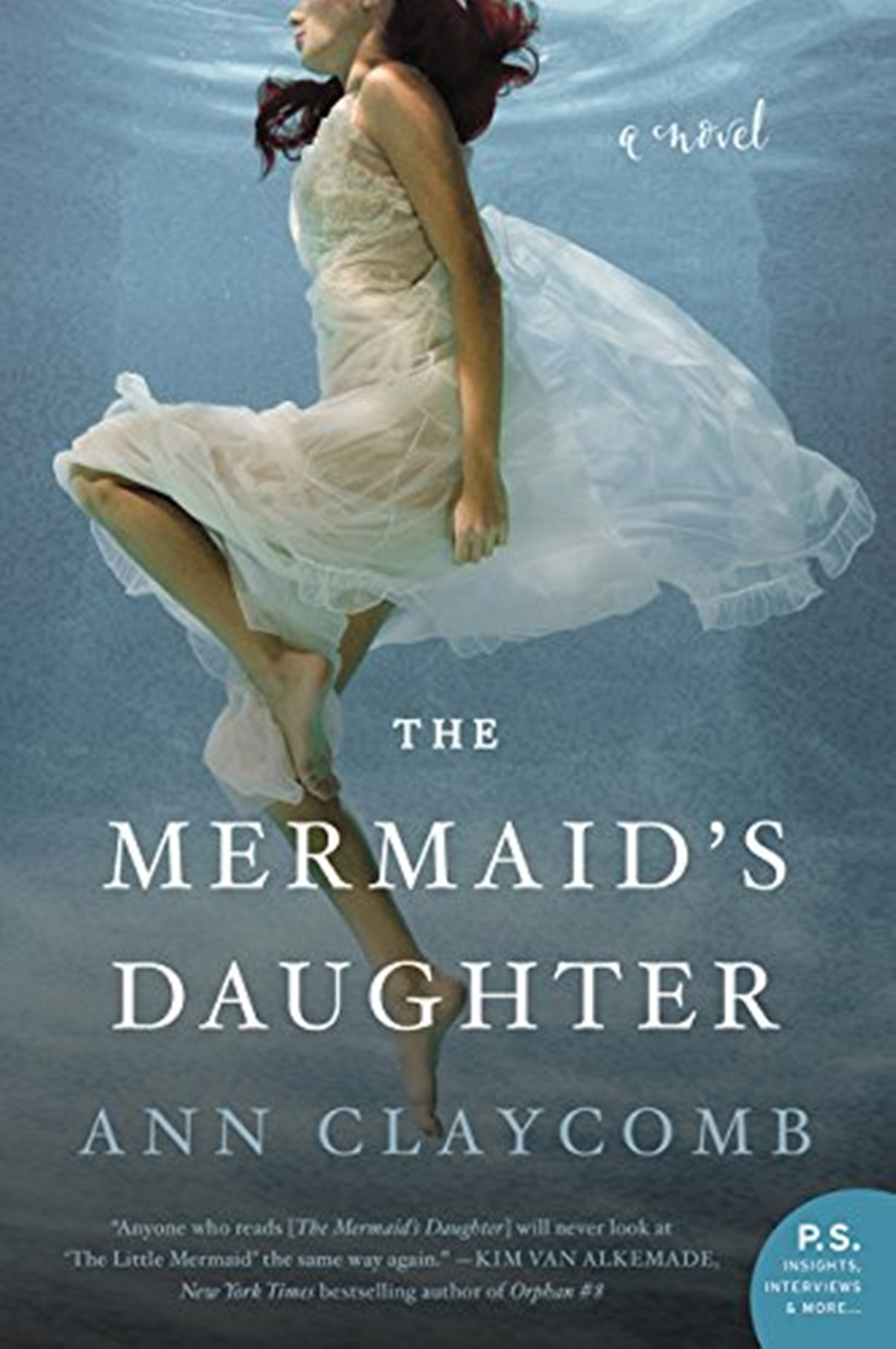 Romance Books Like Siren, cover of The Mermaid's Daughter by Ann Claycomb, books