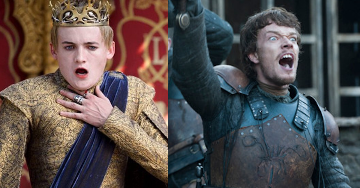 tv, game of thrones, joffrey baratheon, Theon Greyjoy