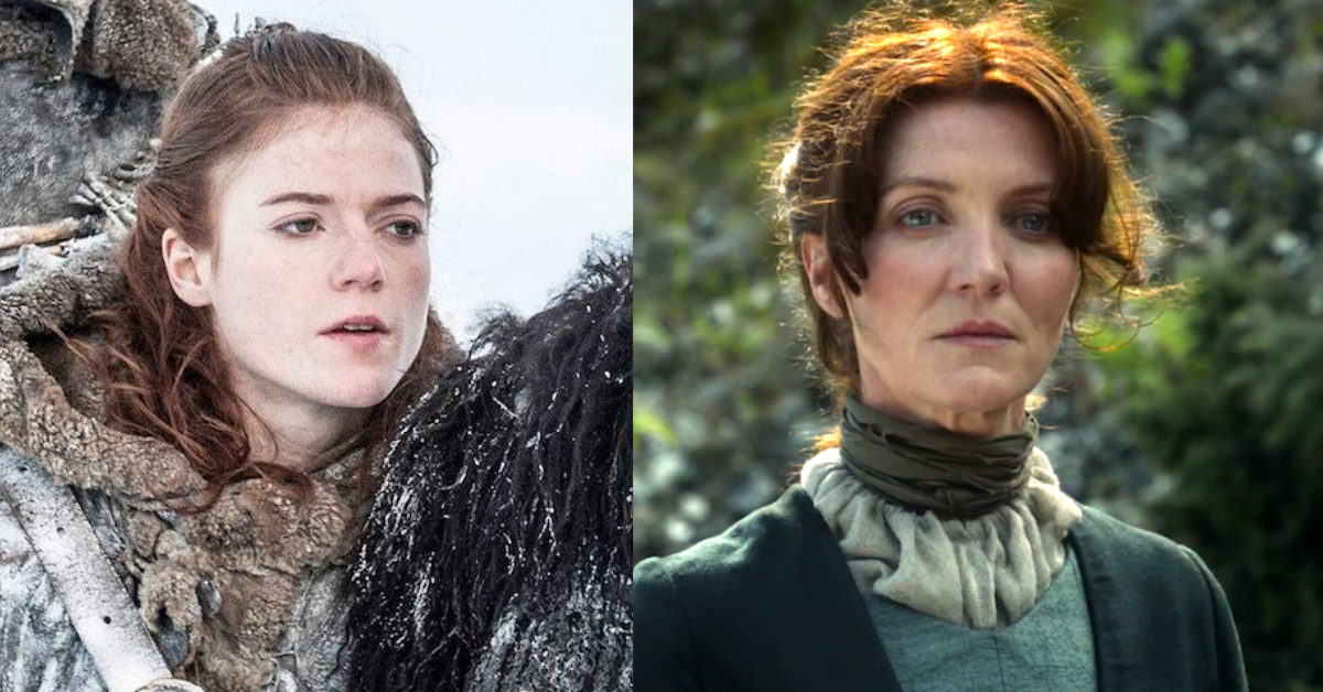 tv, game of thrones, ygritte, catelyn stark