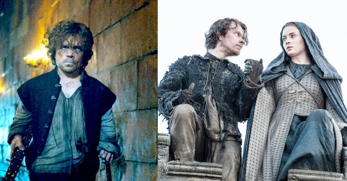tv, game of thrones, tyrion lannister, Theon Greyjoy, sansa stark