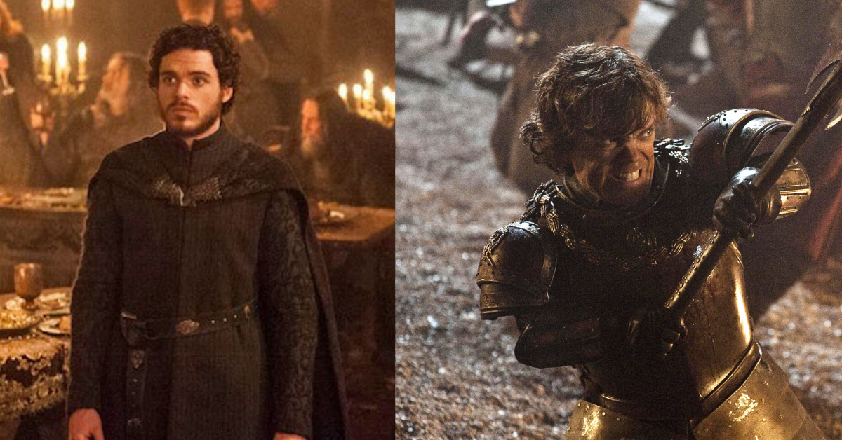 tv, game of thrones, robb stark, tyrion lannister