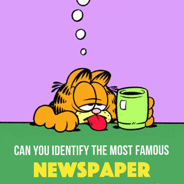 Quiz: Can You Identify The Most Famous Newspaper Comic