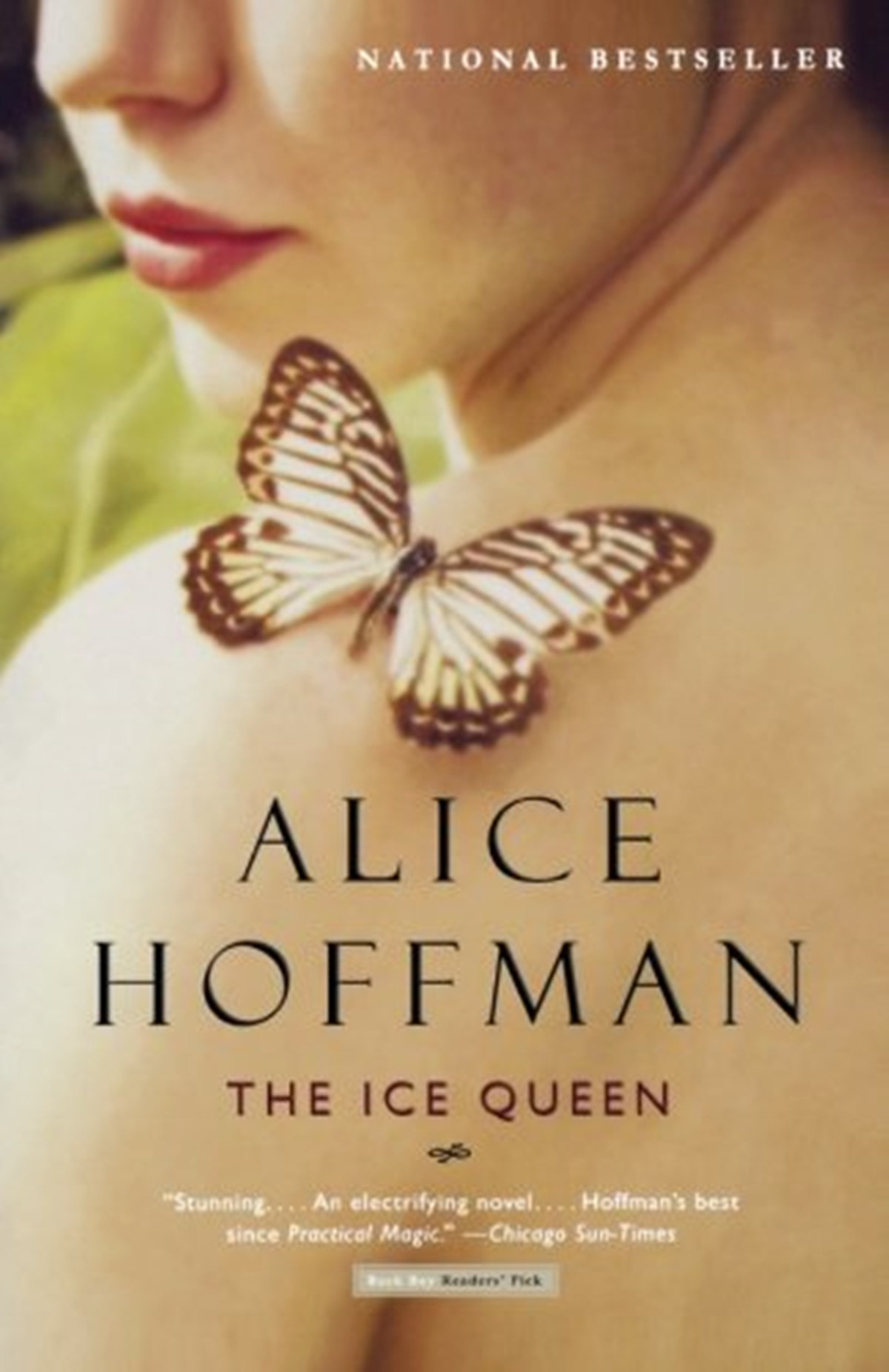 Romantic Retellings, cover of The Ice Queen by Alice Hoffman, books