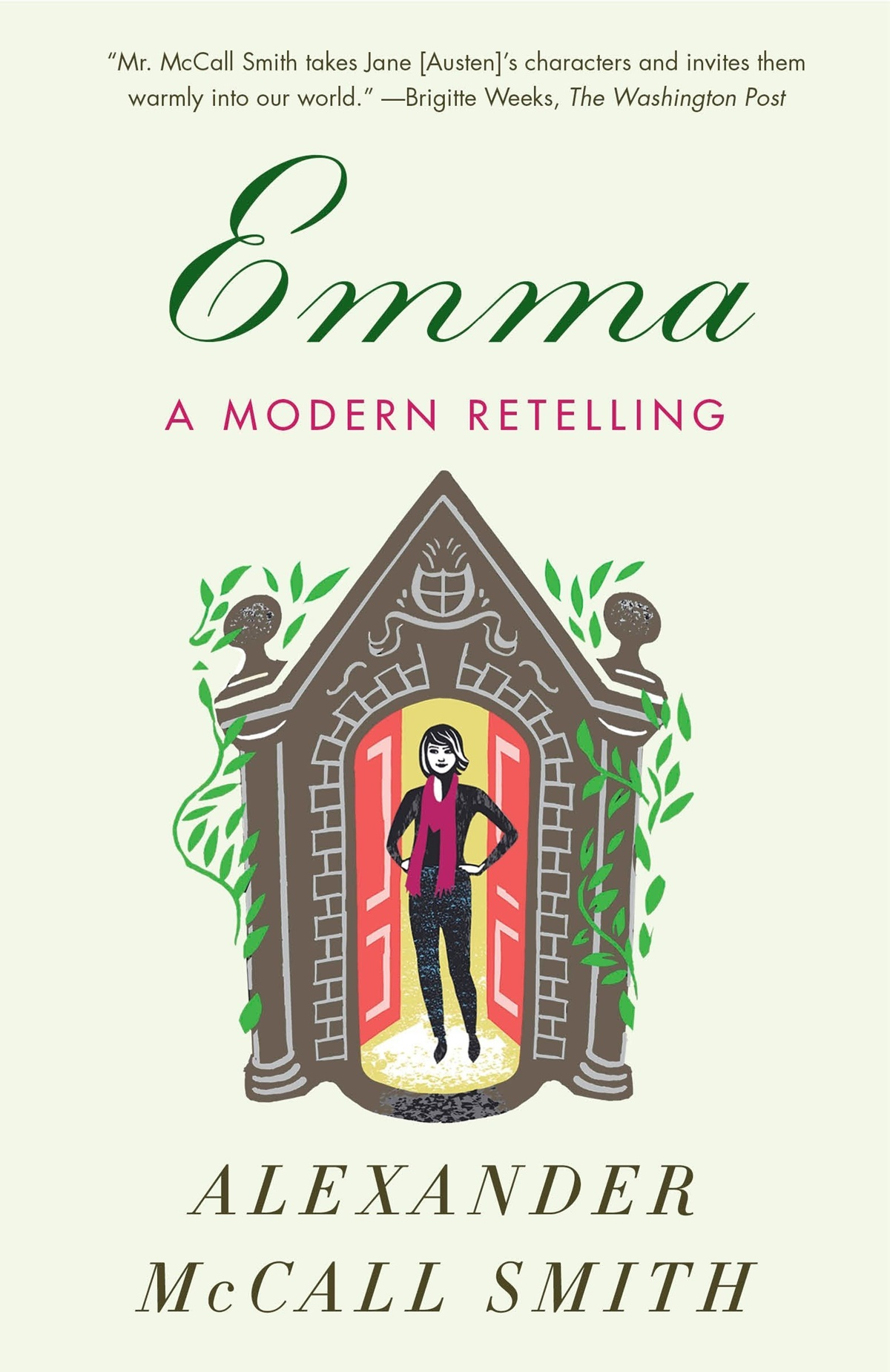 Romantic Retellings, cover of Emma: A Modern Retelling by Alexander McCall Smith, books