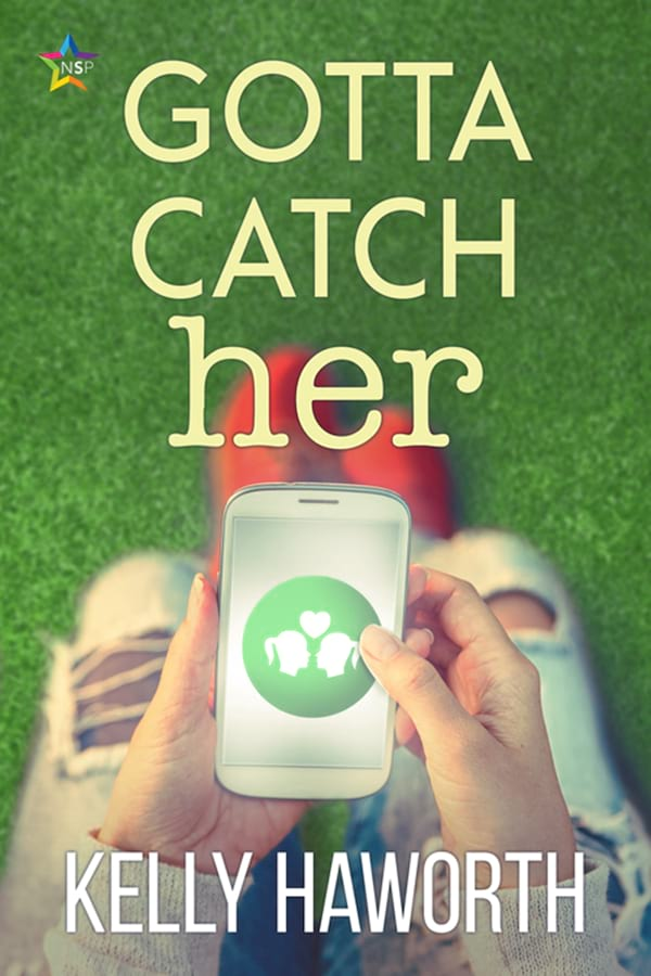 Geeky Romance Novels, cover of Gotta Catch Her by Kelly Haworth