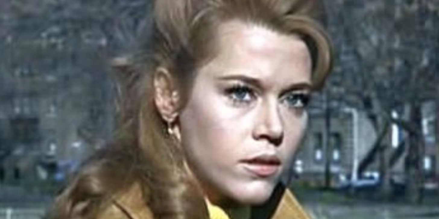 70s female icon, movies, Jane Fonda, barefoot in the park