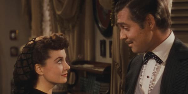 gone with the wind, movie couple, movies