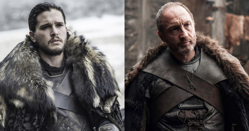 tv, game of thrones, jon snow, roose bolton