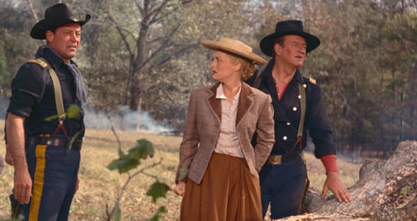 movies, the horse soldiers, 1959, John Wayne, william holden, constance towers