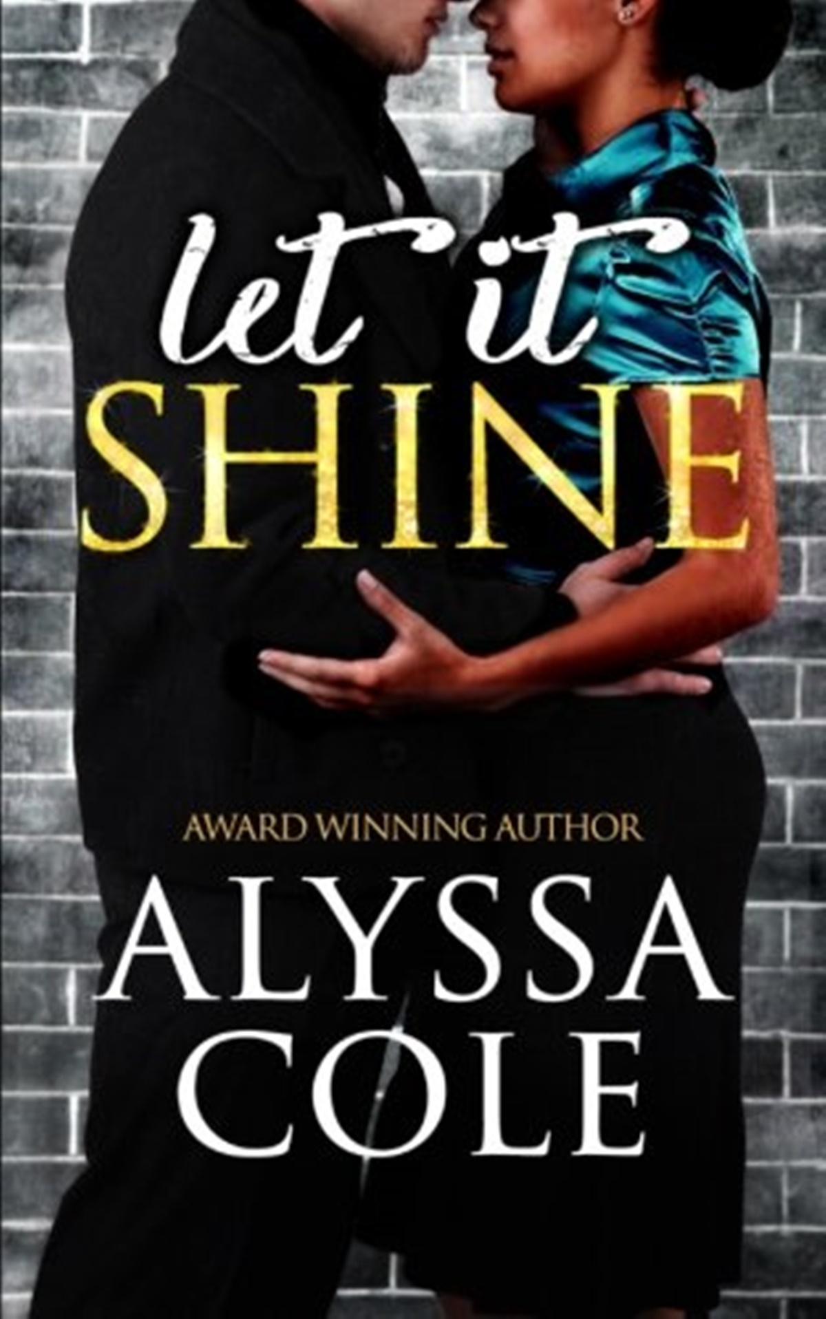 Jewish Romance Novels, cover of Let it Shine by Alyssa Cole, books