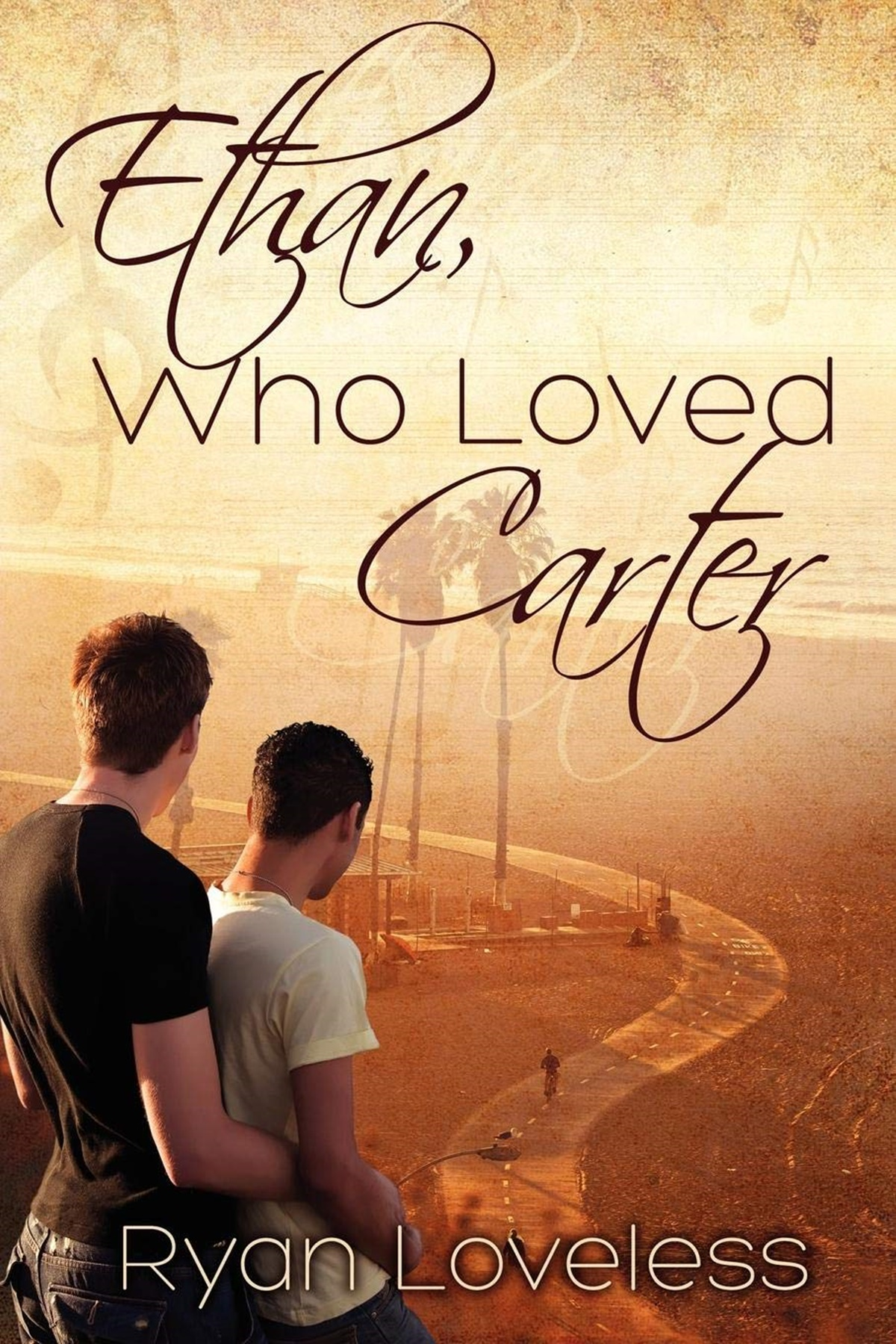 Jewish Romance Novels, cover of Ethan, Who Loved Carter by Ryan Loveless, books