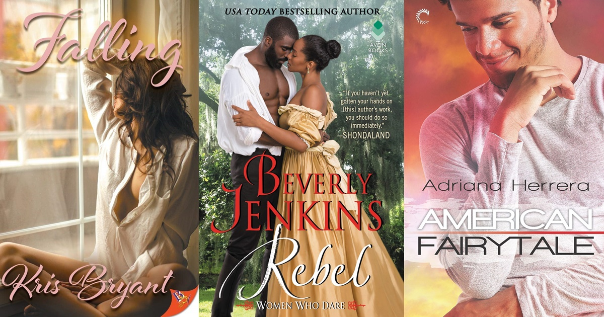 May Romance Releases, the covers of three romance novels released in May 2019, books