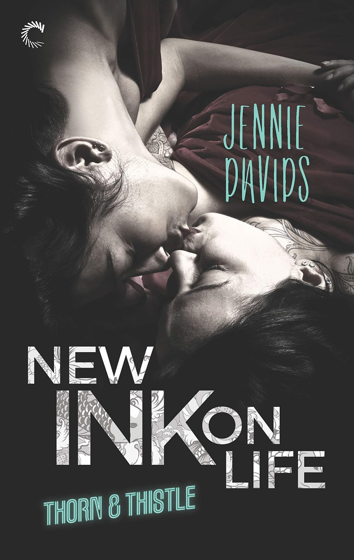 May Romance Novels, cover of New Ink on Life by Jennie Davids, books