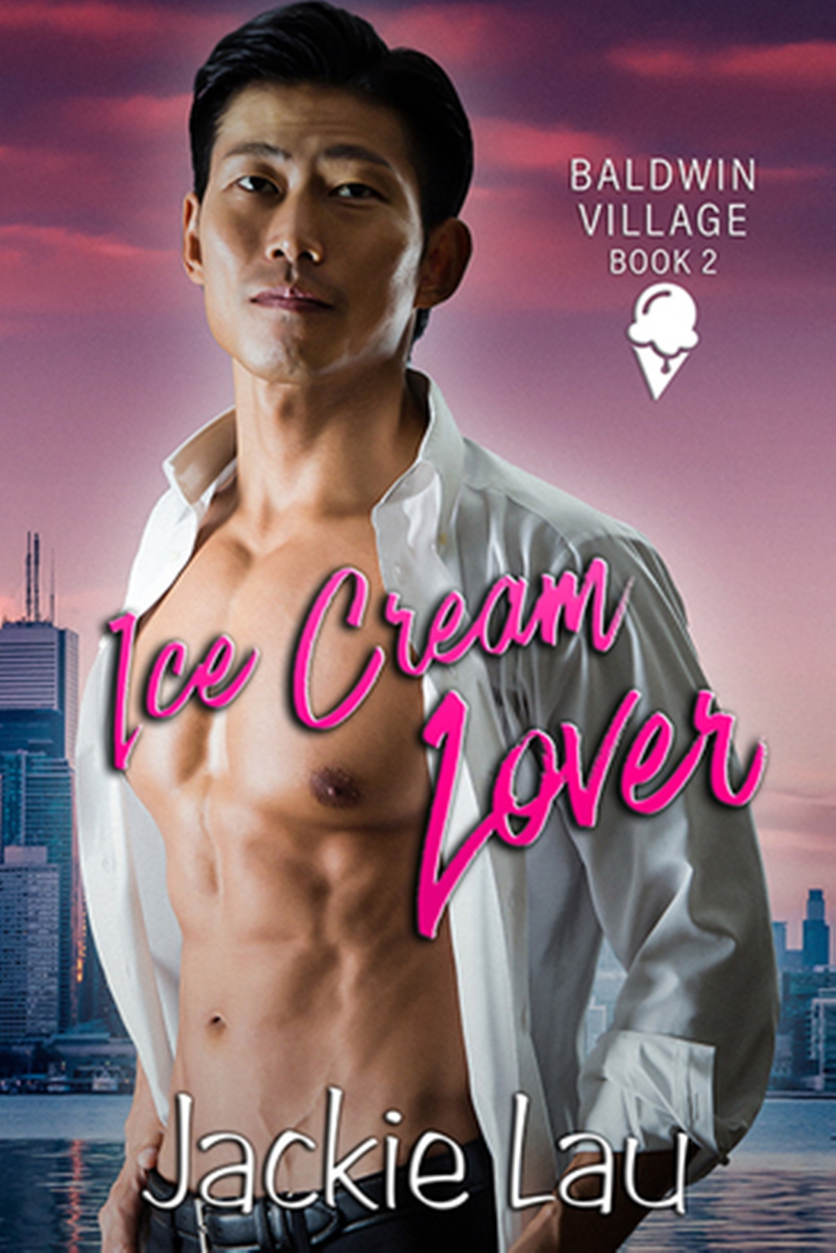 May Romance Releases, cover of Ice Cream Lover by Jackie Lau, books