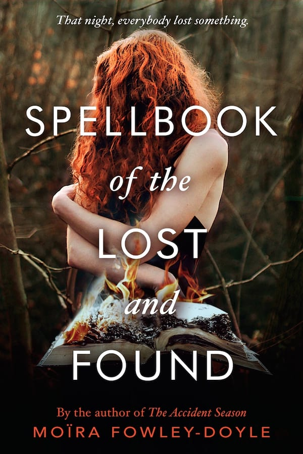 Witch Romance Novels, cover of Spellbook of the Lost and Found by Moira Fowley-Doyle, books