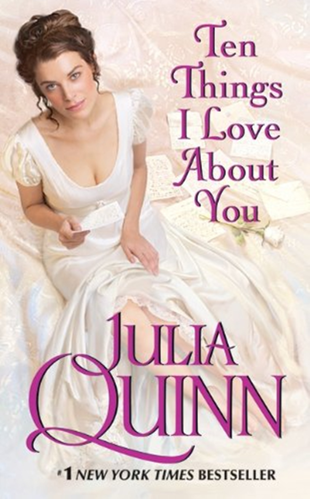 Julia Quinn Books, cover of Ten Things I Love About You by Julia Quinn, books