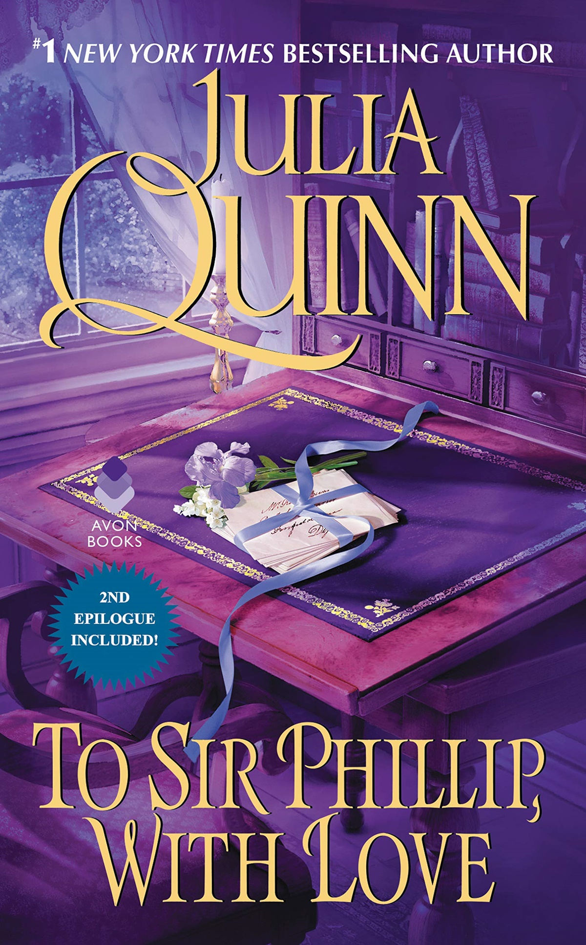Julia Quinn Books, image of To Sir Phillip, With Love by Julia Quinn, books