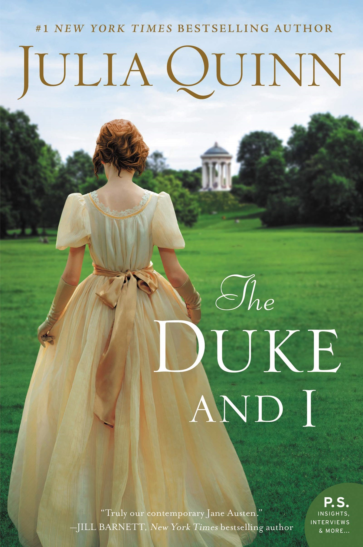 Julia Quinn Books, cover of The Duke and I by Julia Quinn, books