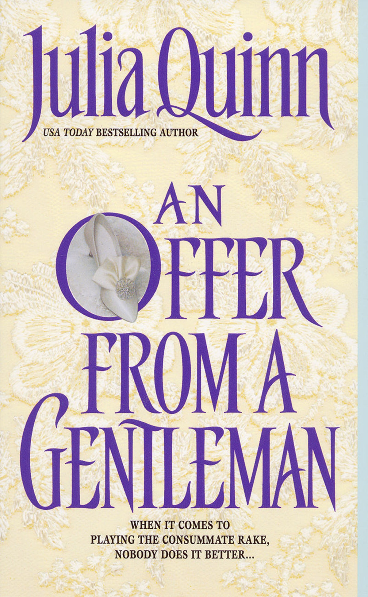 Julia Quinn Books, cover of An Offer From A Gentleman by Julia Quinn, books